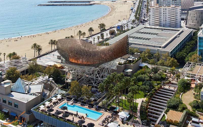 خدمات رفاهی هتل آرتس بارسلونا