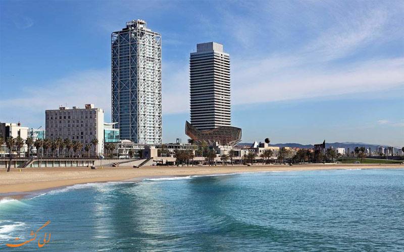 Arts Barcelona- eligasht.com نما از دور