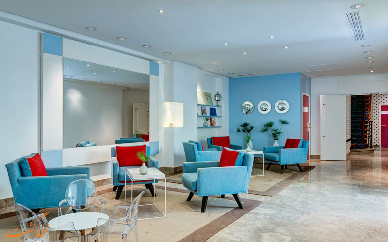 خدمات رفاهی هتل آستوریا پاریس - لابی