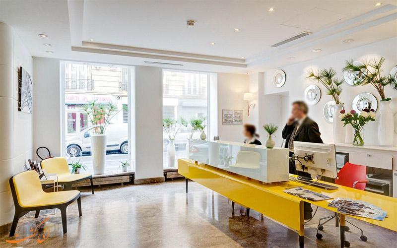 خدمات رفاهی هتل آستوریا پاریس- پذیرش