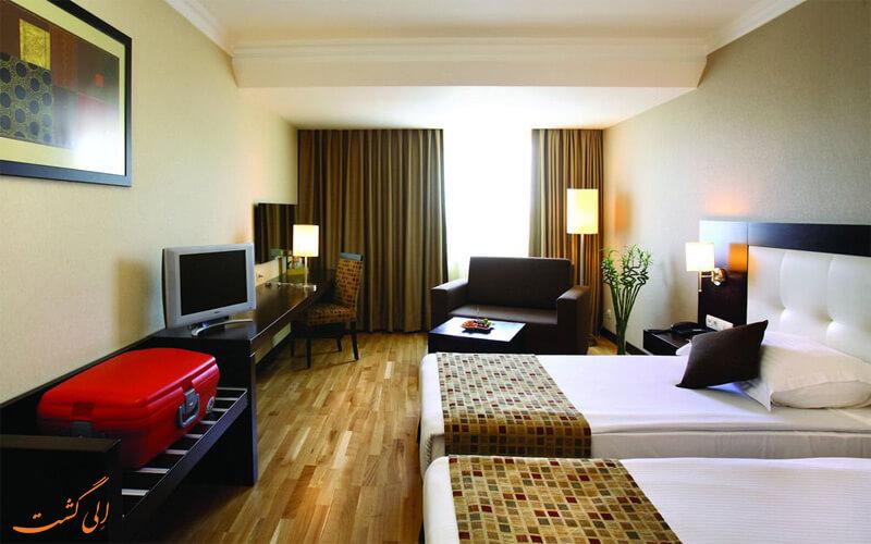 انواع اتاق های هتل بارسلو ارسین توپکاپی استانبول