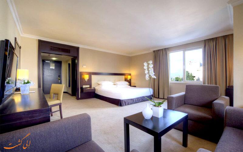 امکانات اتاق های هتل بارسلو ارسین توپکاپی استانبول