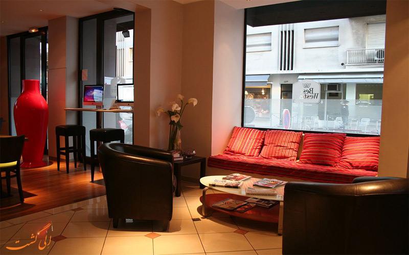خدمات رفاهی هتل بست وسترن روزولت نیس- لابی