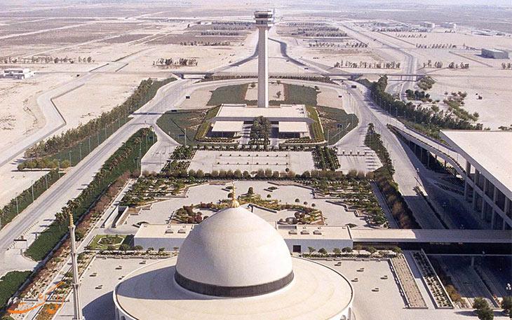 بزرگ ترین فرودگاه جهان: فرودگاه ملک فهد