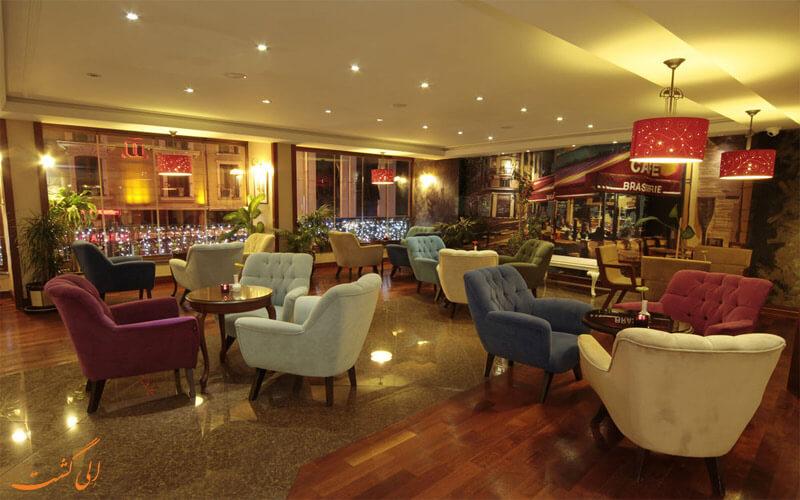 امکانات تفریحی هتل بلک برد استانبول