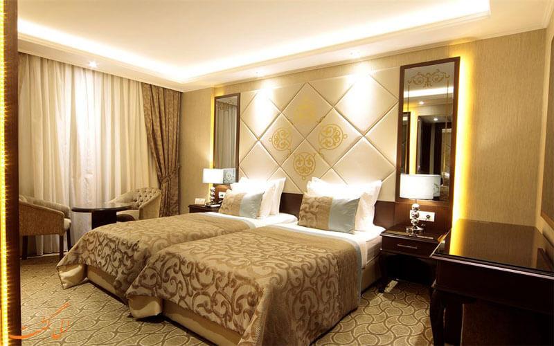 امکانات اتاق های هتل بلک برد استانبول