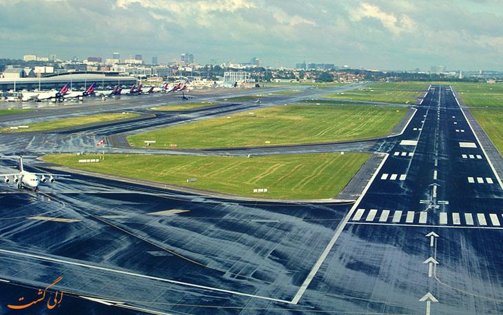 طول استاندارد باند فرودگاه