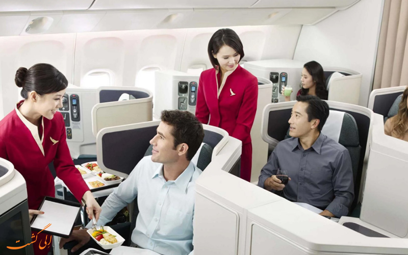 خدمه ی پرواز و مسافرین