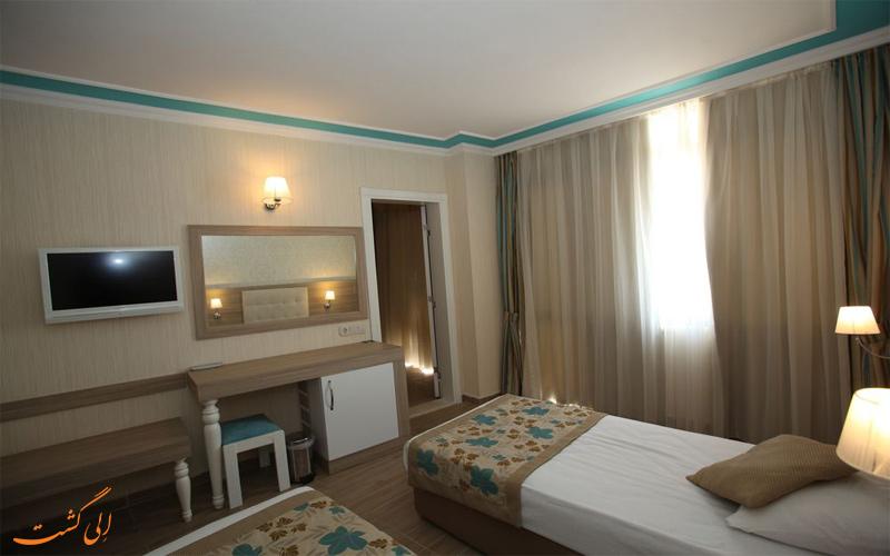 امکانات اتاق های هتل سندر آنتالیا