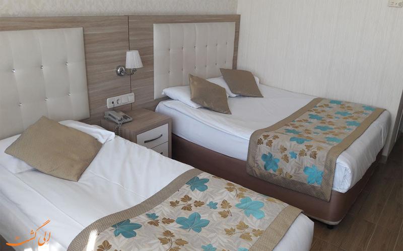 انواع اتاق های هتل سندر انتالیا