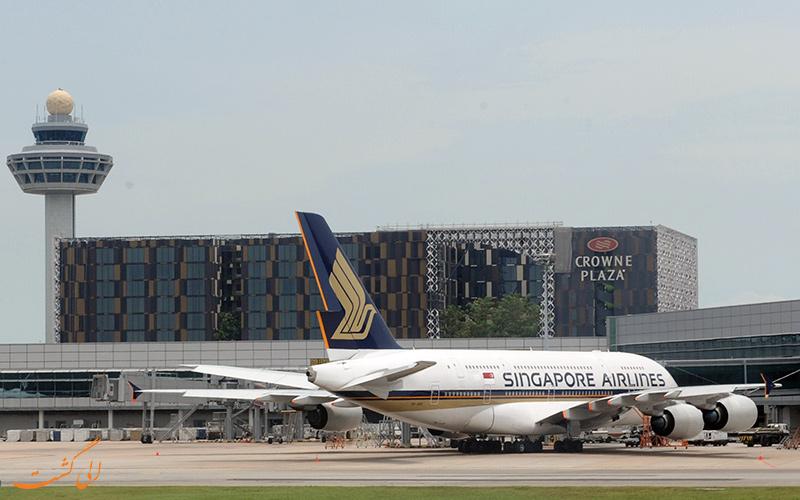 معرفی فرودگاه بین المللی چانگی سنگاپور