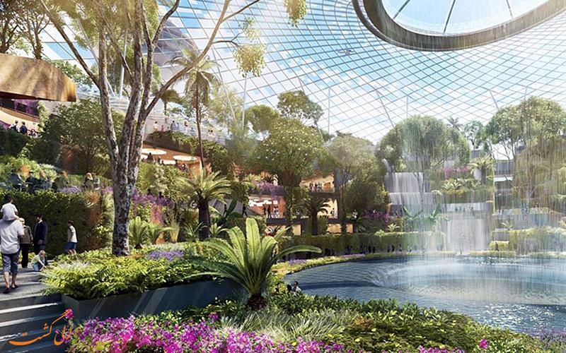 باغ سبز فرودگاه چانگی