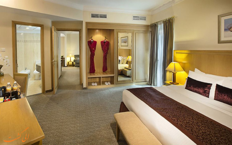 انواع اتاق های هتل سیتی سیزنز دبی