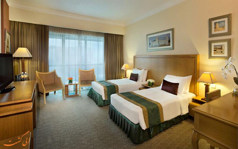 امکانات اتاق های هتل سیتی سیزنز دبی
