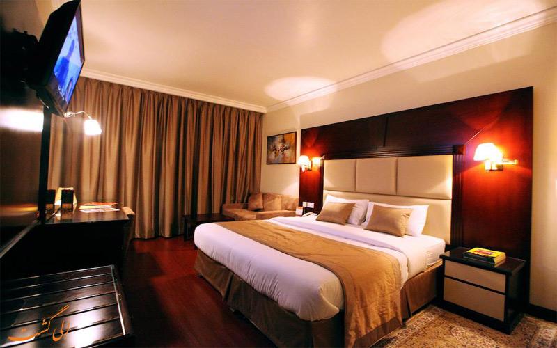 امکانات اتاق های هتل سیتی استار دبی