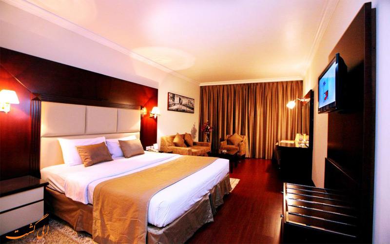 انواع اتاق های هتل سیتی استار دبی