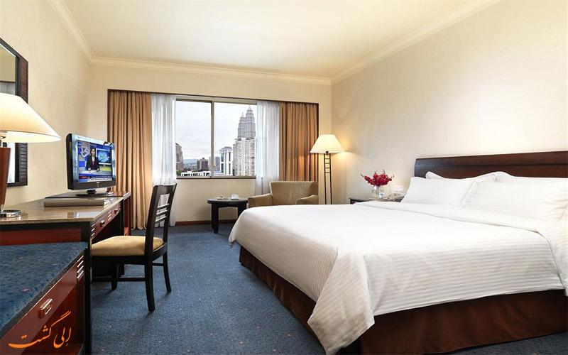 امکانات اتاق های هتل کنکورد کوالالامپور