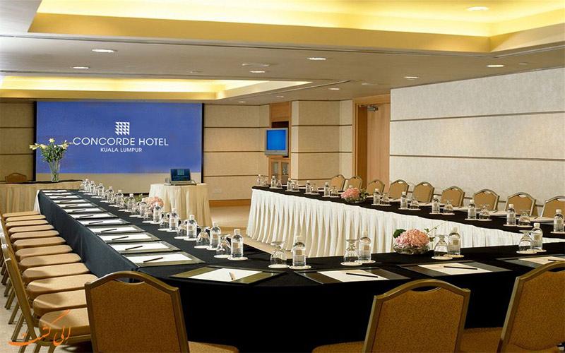 خدمات رفاهی هتل کنکورد کوالالامپور