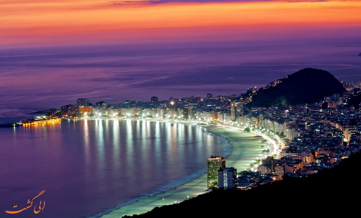 ساحل Copacabana Beach