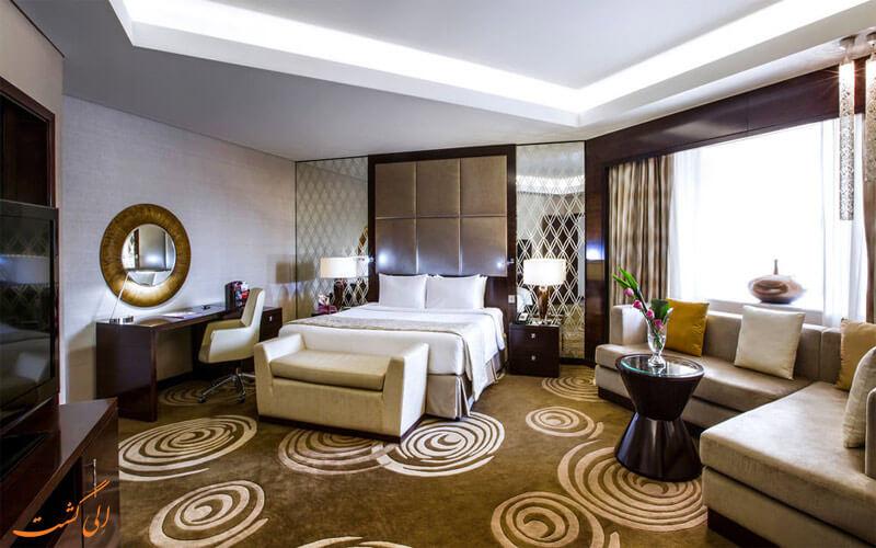 امکانات اتاق های هتل کراون پلازا دبی