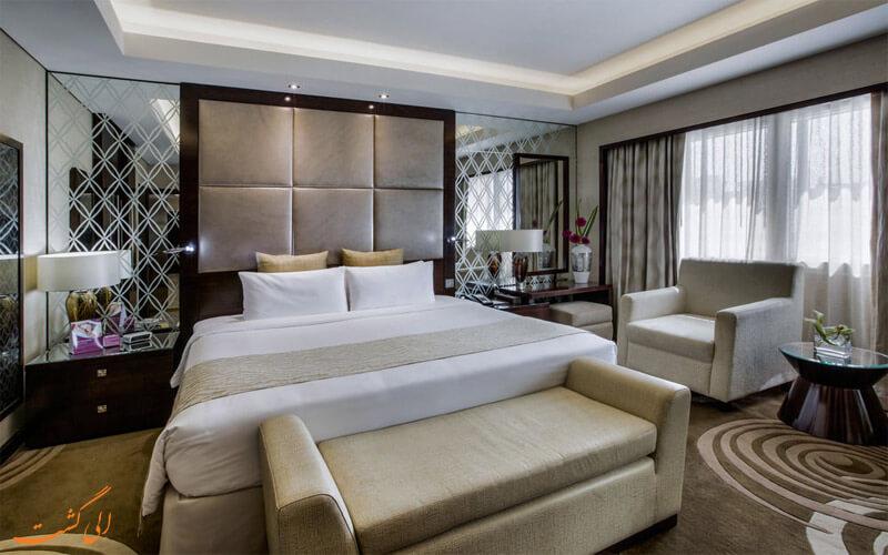 انواع اتاق های هتل کراون پلازا دبی