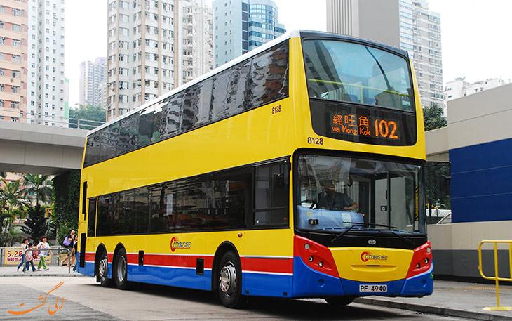 حمل و نقل فرودگاه هنگ کنگ:اتوبوس