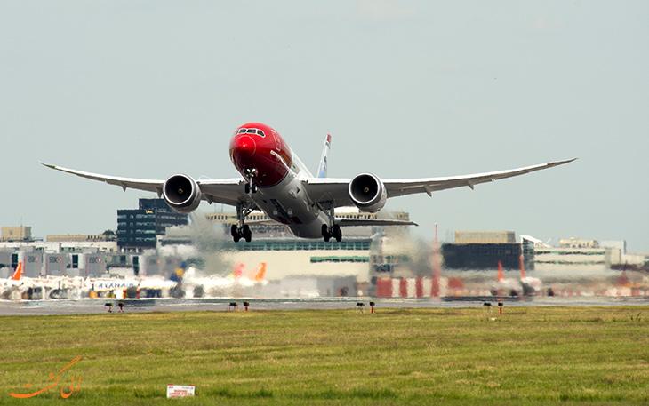 سریع ترین پرواز نیویورک به لندن
