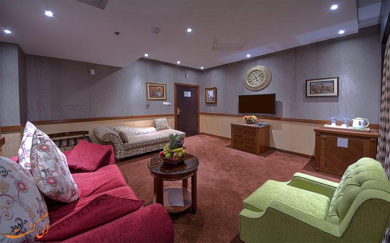 انواع اتاق های هتل دلمون دبی