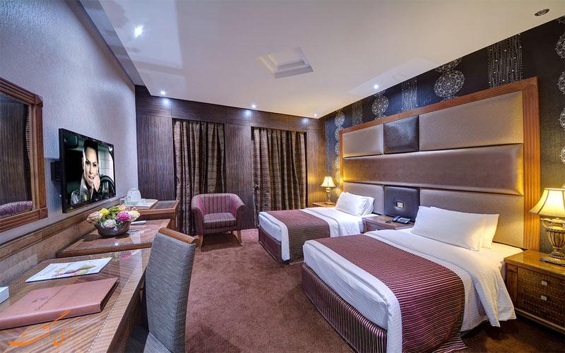 امکانات اتاق های هتل دلمون دبی