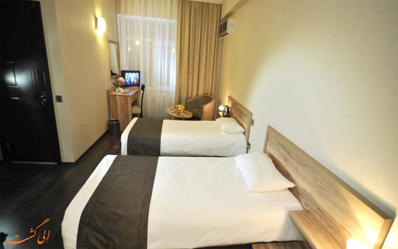 امکانات اتاق های هتل دیپلمات باکو