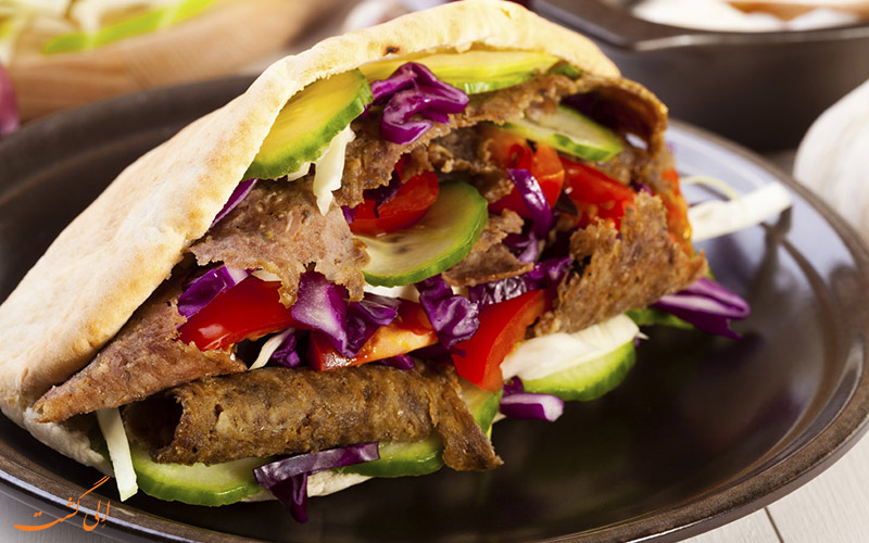 ساندویچ کباب دونر