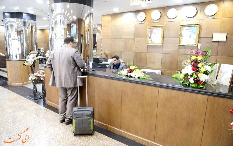 خدمات رفاهی هتل پالم دبی