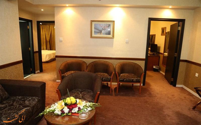 انواع اتاق های هتل پالم دبی