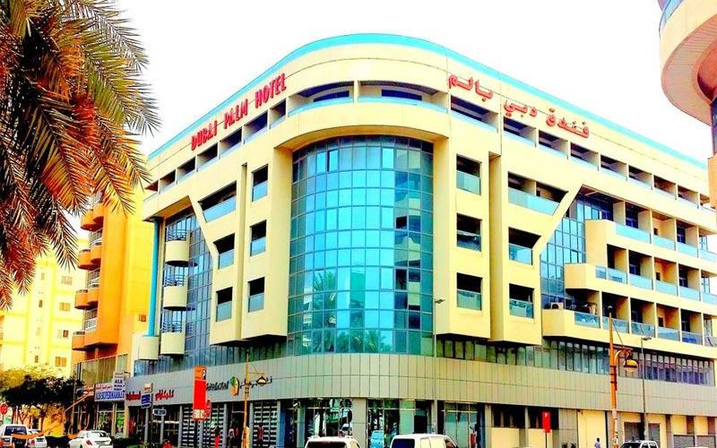 هتل پالم دبی dubai palm hotel