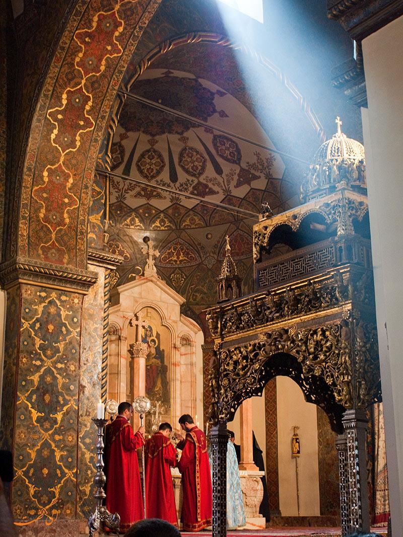 عکس کلیسای اچیمیادزین در ارمنستان