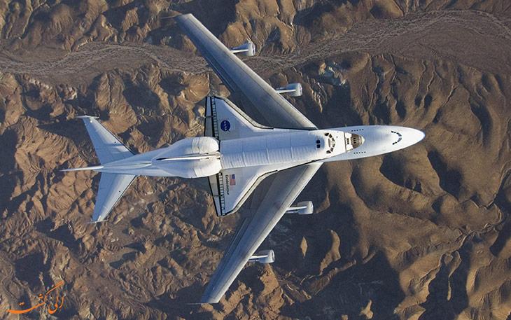 هواپیمای شاتل بر ناسا