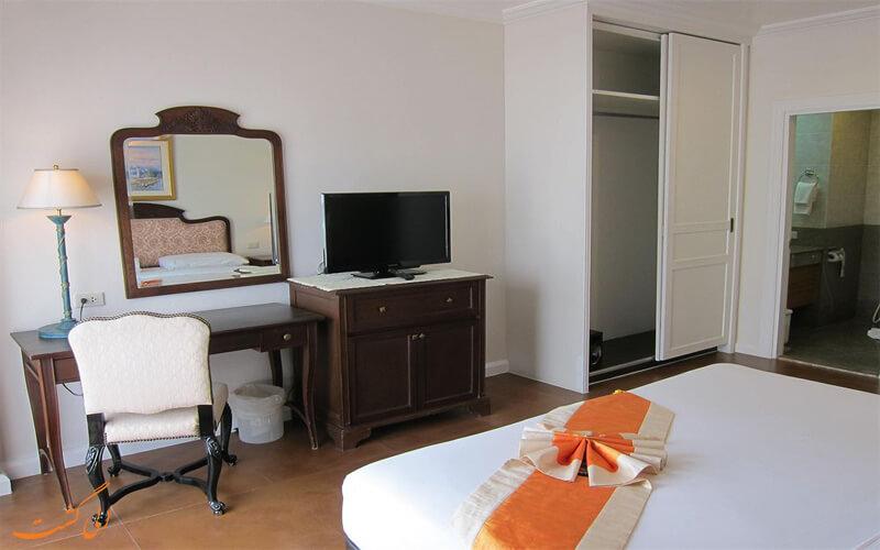 انواع اتاق های هتل فوروم پارک بانکوک