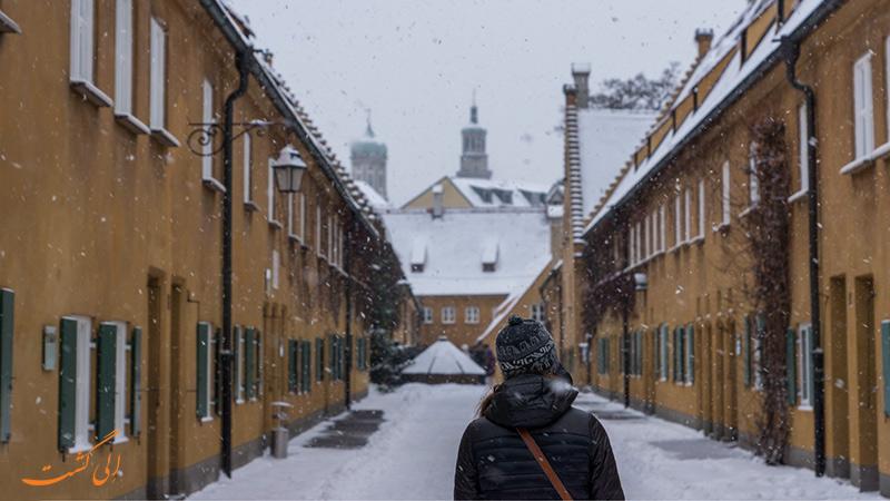 زمستان در روستای فوگری