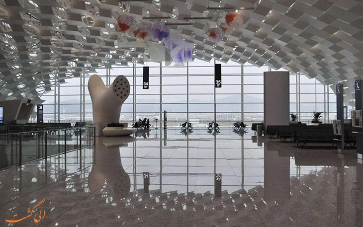 معماری داخلی فرودگاه شنزن