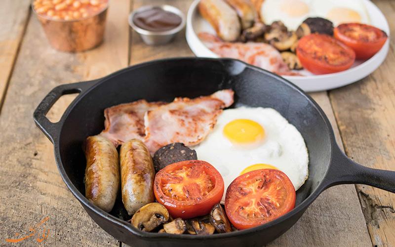صبحانه کامل انگلیسی