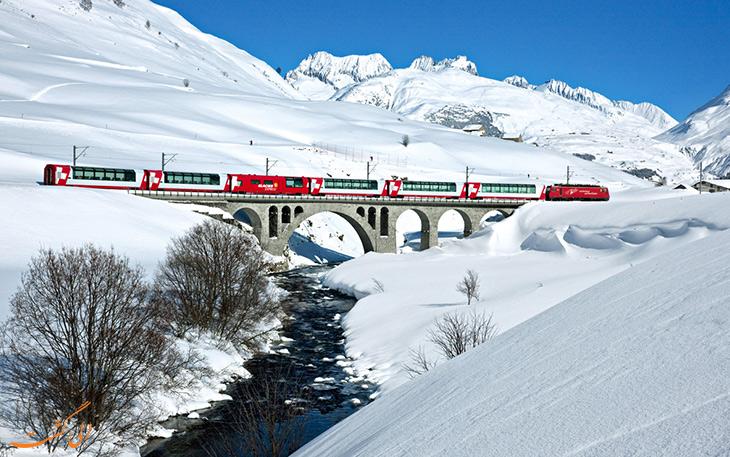 قطار سریع السیر یخی