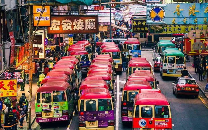 راه های حمل و نقل فرودگاه هنگ کنگ