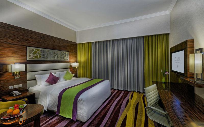 امکانات اتاق های هتل قایا گرند دبی