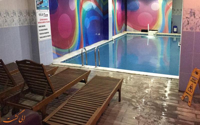 امکانات تفریحی هتل گلدن هیل استانبول