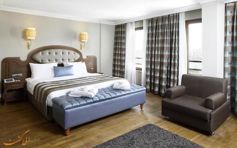 اتاق های هتل گرند هالیک استانبول- الی گشت