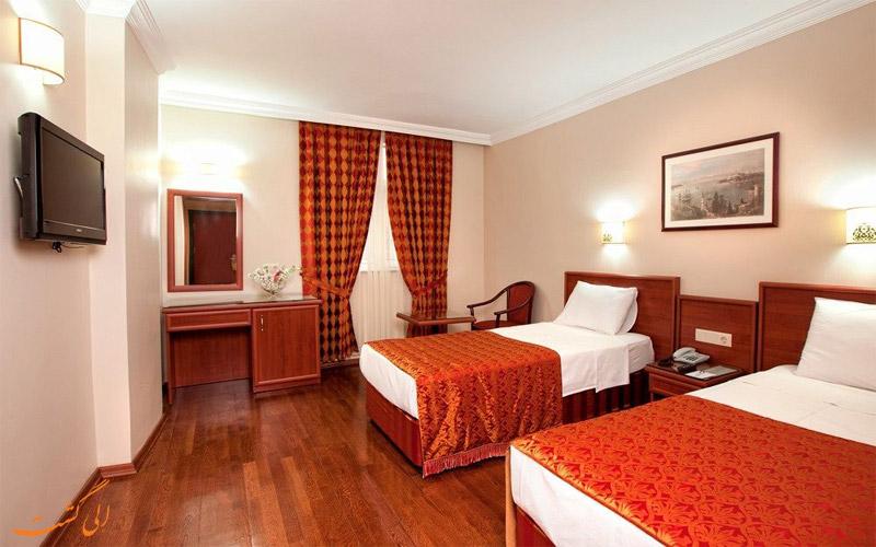 انواع اتاق های هتل گرند هالیک استانبول