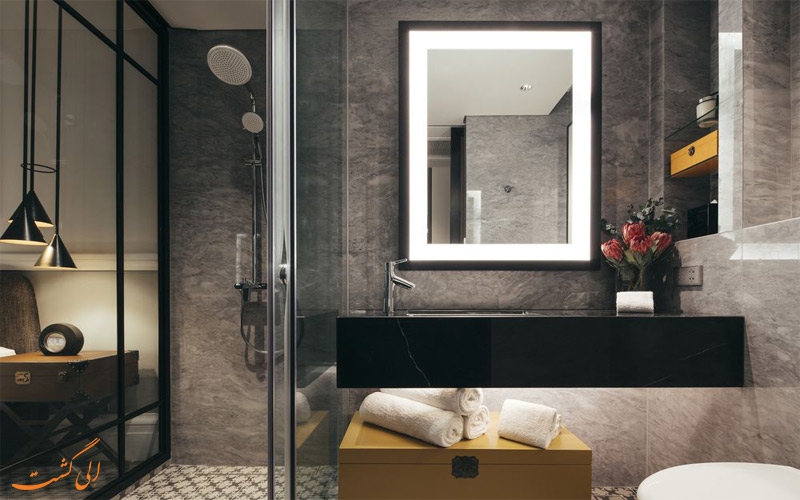 امکانات اتاق های هتل گرند پارک سیتی هال سنگاپور حمام