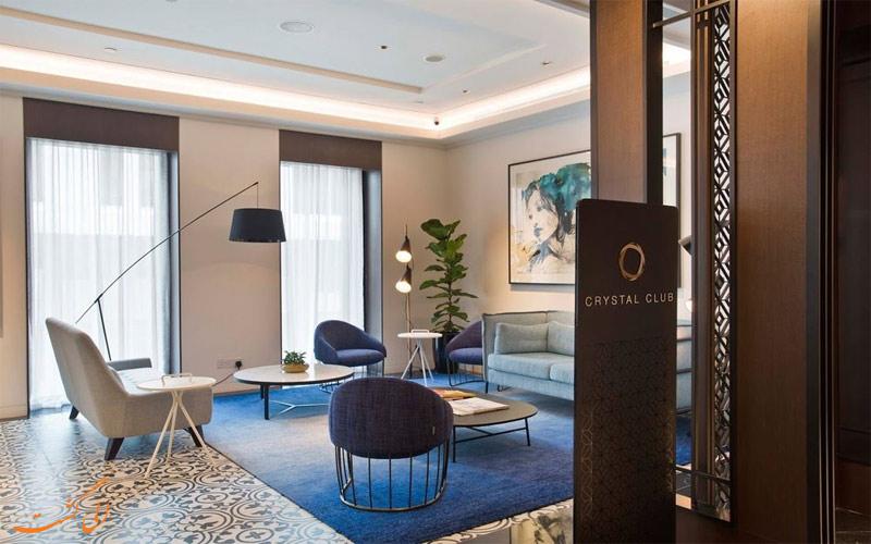 انواع اتاق های هتل گرند پارک سیتی هال سنگاپور
