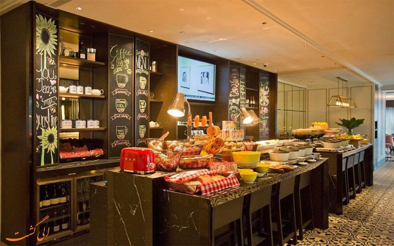 خدمات رفاهی هتل گرند پارک سیتی هال سنگاپور رستوران