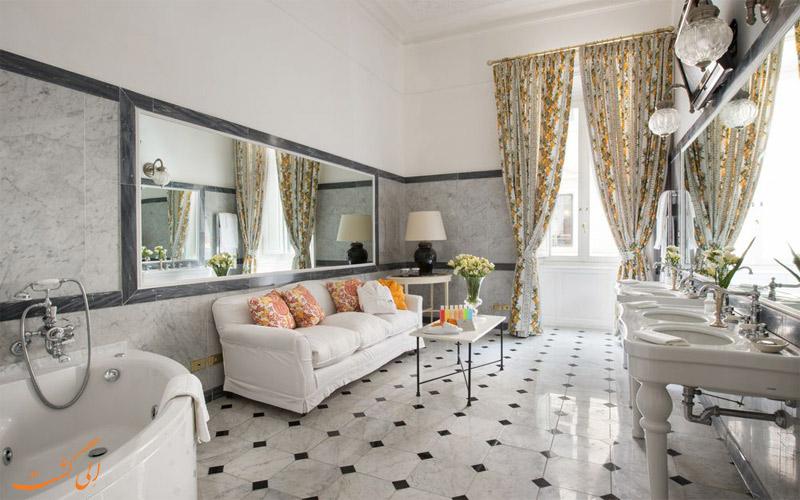 انواع اتاق های هتل گرند پلازا رم